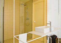 CaSA renovates Rocha Apartment with an assortment of tiles
