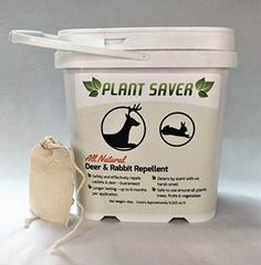 Plant Saver All Natural Deer and Rabbit Repellent 4 lb -- Startling review available here  : Gardening DIY