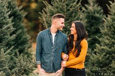 Couples session at Christmas tree farm with Saratoga Springs NY engagement photographer Lauren Kirkham Photography christmastreefarm Christmas Tree Lots, Christmas Couple, Christmas Tree Farm, White Christmas, Christmas Pics, Merry Christmas, Christmas Decorations, Christmas Pictures Outfits, Family Christmas Pictures