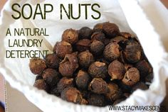 "Soap Nuts – A Natural, Frugal Laundry Detergent - $4.90 for sample at Amazon.  Definitely gonna have to try this since its natural and nothing to ""Make""."