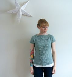 Ravelry: Project Gallery for Imogen Tee pattern by Carrie Bostick Hoge