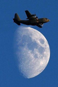 USAF Hercules Transport Airplane Lockheed C-130 AC-130 Cufflinks FREE SHIPPING