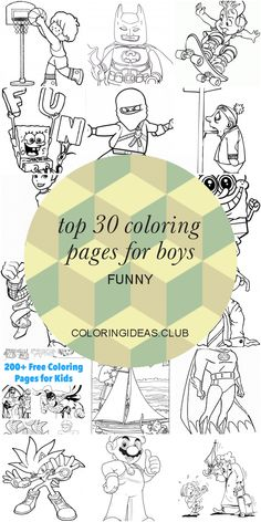 Get information about Top 30 Coloring Pages for Boys Funny. Get this Cute and Pin this article right now! Dinosaur Coloring Pages, Coloring Pages For Boys, Free Printable Coloring Pages, Free Coloring Pages, Boy Coloring, Coloring Sheets, Coloring Books, Funny Boy, Easy Jobs