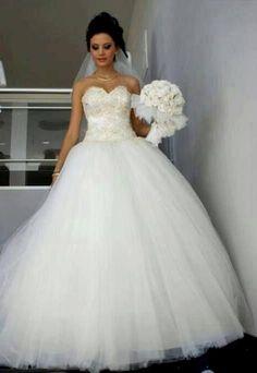 Big puffy wedding dresses uk | wedding | Pinterest | Wedding dress ...