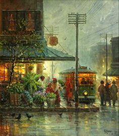 As Cores Da Arte: chuva