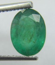 1.76 Carat Green Emerald Oval Precious Unheated Untreated Natural Loose Gemstone…