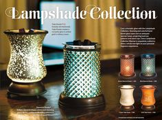 Lampshade Collection - Available Sept 2013 http://scent-aholic.scentsy.com