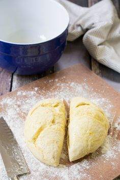 How to Make Pizza Dough (From Scratch) Using Kitchen Aid Mixer with dough hook.