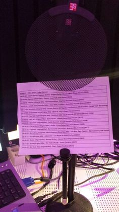 """It's a wrap. Nxt week """"Looking for the Perfect Beat"""". Here's the tracklist"""