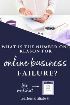 How do online businesses fail? by Fearless Affiliate. Do not make these mistakes when starting your business. Instead use tried and true principles that help you to succeed. #success #bloggingtips