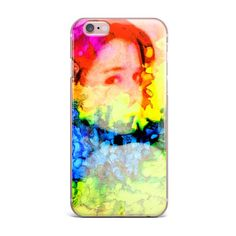 """Claire Day """"Clairefied"""" Rainbow Paint iPhone Case - KESS InHouse"""