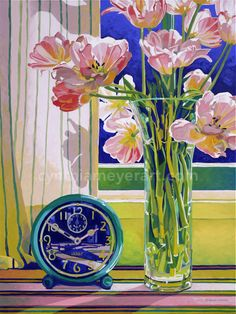 Pink-tulips-painting-Meyer