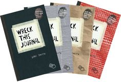 Wreck This Journal by Keri Smith! I-WANT-IT-SO-BAD! OH-MY!