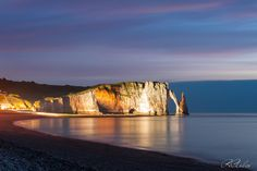 Etretat by night by Rachid Asbai on 500px