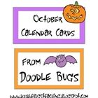 FREE---Enjoy this set of fun October Calendar Cards. Can also be used as counting cards for the little ones! October Calendar, School Calendar, Free Calendar, Teachers Pay Teachers Freebies, Teacher Websites, Teacher Stuff, Classroom Labels, Classroom Activities, Classroom Organization