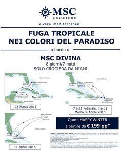 MSC DIVINA OFFERTE LAST MINUTE CROCIERE DA €399,00 CON PARTENZE DA CATANIA – PALERMO – SAVONA – ROMA – MILANO