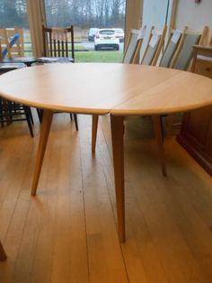 Originals 3384CL Drop Leaf Table in clear £599