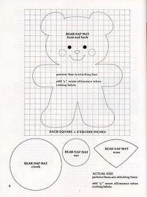 Moldes de ursinhos