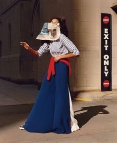 Imaan Hammam & Varya Shutova for Vogue US January 2016 by Jamie Hawkesworth | DAISY