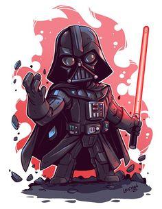 Chibi Star Wars - Vader