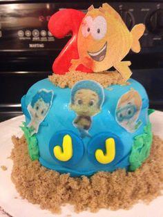 Bubble Guppies Personal Cake
