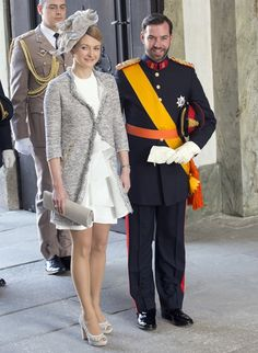 Prince Guillaume and Countess Stephanie de Lannoy: http://bride-wedding.info/2012/10/royal-wedding-in-luxembourg/