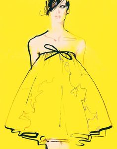 Artist Spotlight - David Downton - Illustration and Graphic Design by Christopher King