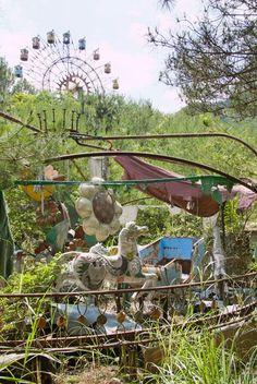 Lugares abandonados que surpreendem   O Beijo