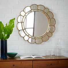 Modern Mirror with Flower Shape | Decor Ideas | Mirror Decor Ideas | Inspirations & Ideas | Boca do Lobo | www.bocadolobo.com/en