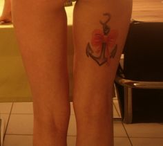 anchor #tattoo, great legs