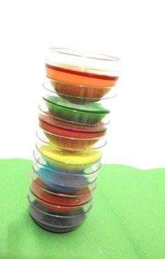 Acquerelli fatti in casa Ricetta per acquerelli  2 cucchiai di aceto bianco (noi abbiamo usato quello di mele) 2 cucchiai di maizena 4 cucchiai di bicarbonato 1 cucchiaino di glicerina (trovate il glicerolo liquido in farmacia. 50 ml per circa 3 euro) coloranti alimentare acqua  Mescolare in un recipiente l'aceto con il bicarbonato. Non appena l'effetto della combinazione si placa aggiungere la maizena e la glicerina.Dividere per colore e aggiungere colorante alimentare