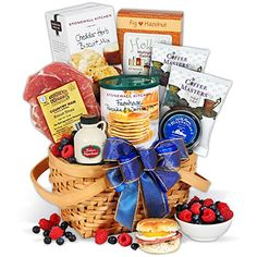 Christmas Morning Breakfast Gift Basket * To view further for this item, visit the image link.