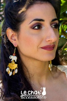 Excited to share the latest addition to my #etsy shop: Mothers day gift, Elephant earrings, Dangle earrings, Gift for mother, Boho chic earrings, Statement earrings, Ethnik earrings, Sales https://etsy.me/2G9wCVX #jewelry #earrings #gold #elephant #bohostyle #elephantearrings #statementearrings #ivory #earthtones #sales #etsysales #jewelrysales #bohemianearrings #gypsyearrings #boldearrings
