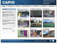 Capio-Consultoria e Comércio Lda um projecto desenvolvido pela Navega Bem Web Design Madeira  http://www.capio.pt/