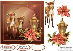 Holiday Fawns