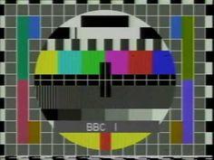 TV Test Pattern.