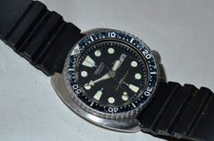 Vintage SEIKO 6309 Dive Watch from US Army 5th Special Forces Group (Airborne) Diver - No confirmation of issue.