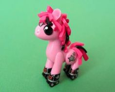 Rollerskating Pony -DragonsAndBeasties