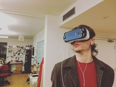 An awesome Virtual Reality pic! And I'm floating in a most peculiar way   #toronto #yyz #the6ix #coworking #community #torontolife #vr #virtualreality #tech #future #davidbowie #cdntech #startups #startuplife #entrepreneur #entrepreneurship #awesome #hustle #cuttingedge #business #smallbusiness #bowie #space by projectspaces check us out: http://bit.ly/1KyLetq