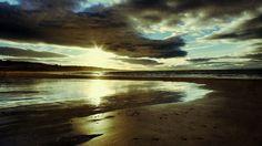 Gullane Beach, East Lothian, Scotland