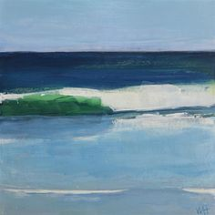 """State of Mind"" original fine art by Whitney Heavey Daily Painters, Surf Art, Fine Art Gallery, 30 Day, Ocean Paintings, Surfing, Mindfulness, Artwork, Artists"