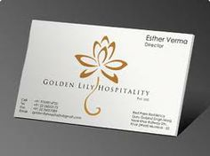 hospitality business cards - Buscar con Google