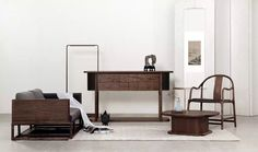 Pair Of Rosewood Chinese Chairs By Hans J Wegner Denmark