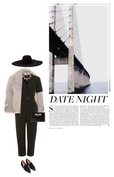 """""""[d a t e night]"""" by furhious ❤ liked on Polyvore featuring STELLA McCARTNEY, Topshop, Givenchy, Lanvin, Erickson Beamon and Kershaw"""
