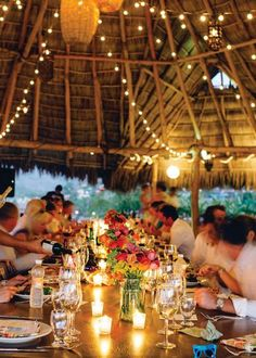 Fantastic views and farm-to-table food for Mexico weddings | Jillian Mitchell