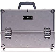 SHANY Essential Pro Makeup Train Case with Shoulder Strap and Locks - Silver SHANY Cosmetics http://www.amazon.com/dp/B000O3OZD6/ref=cm_sw_r_pi_dp_UwDGwb0PTZC3V
