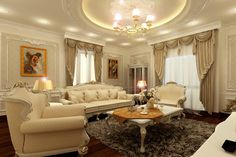 PU Ceiling Decorative Cornice for Interior Decoration