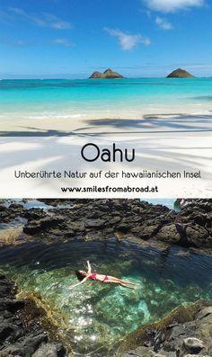 Oahu – traumhafte Sandstrände und die Großstadt Honolulu, unberührte Natur in Hawaii erkunden # Oahu Hawaii, Kauai, Honolulu Oahu, Vacation Ideas, Vacation Trips, Vacation Photo, Honeymoon Ideas, Koh Lanta Thailand, Destination Voyage