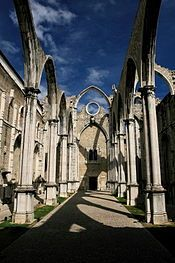 Lisbon: Convent of Our Lady of Mount Carmel - Convento da Ordem do Carmo is a Portuguese historical, religious building. A roofless Church