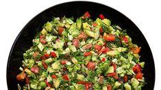 Receita de Salada com abacate e brócolis. Enviada por Frederick Macekz, serve 4 pessoa(s) e fica pronta em 30 minutos. Categoria: Fit, Saladas